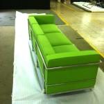 le corbusier limegreen2