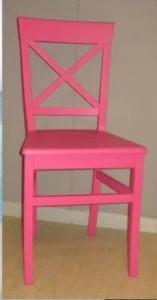 sedia colorata pink